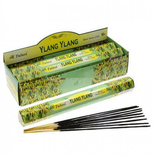 Ylang Ylang Incense Sticks Full Box 120 Sticks - TULASI